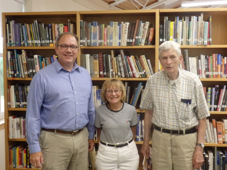 Celebrating our 50th Anniversary with Bob Curran, who began adult ed in Maine